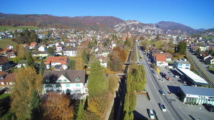Die Hauptverkehrsachse durch Balsthal gehört zum Bundesinventar der historischen Verkehrsachsen.
