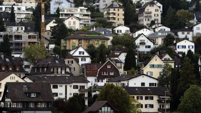 Immobilien am Ufer des Zürichsees (Symbolbild)