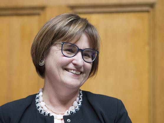 Die Tessiner SP-Nationalrätin Marina Carobbio ist 2019 Nationalratspräsidentin.