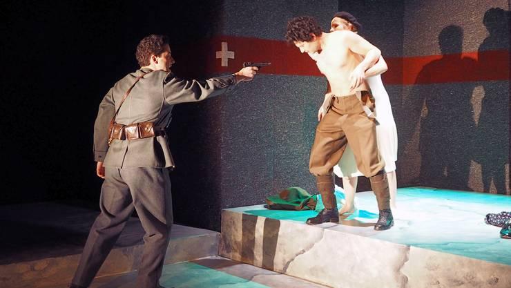 Angelehnt an die Wirklichkeit: Die Schlussszene im Theater «Polenliebchen»