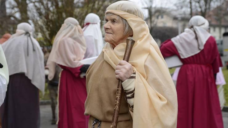 Weihnachtsreise Solothurn 2015: Alle machen sich bereit für ihren Einsatz