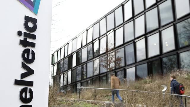 Helvetia-Gebäude in St. Gallen (Archiv)