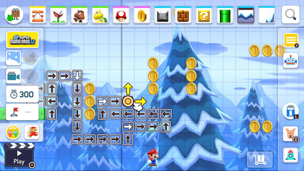 Mario Maker Upload