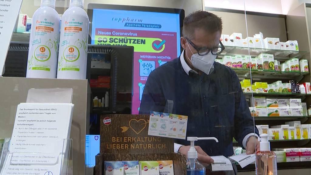 Zürichs höchster Apotheker hat Coronavirus überstanden