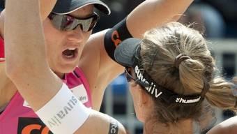 Doppelte Freude bei Simone Kuhn (links) und Nadine Zumkehr
