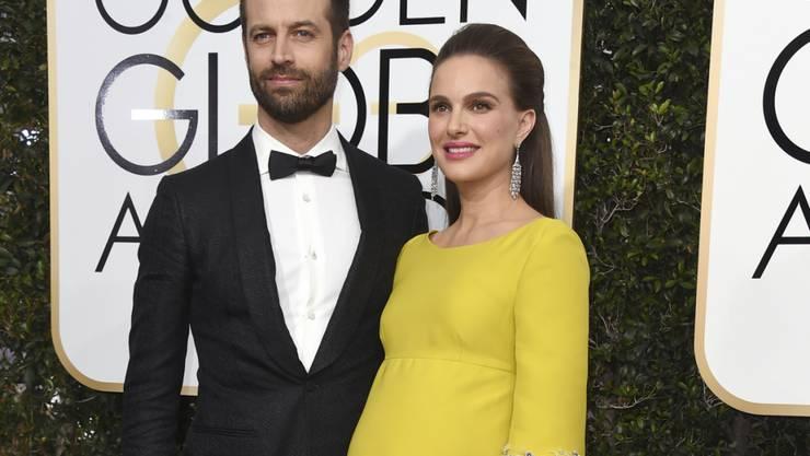 Wieder Eltern geworden: Benjamin Millepied und Hollywood-Star Natalie Portman haben eine Tochter. (Archivbild)