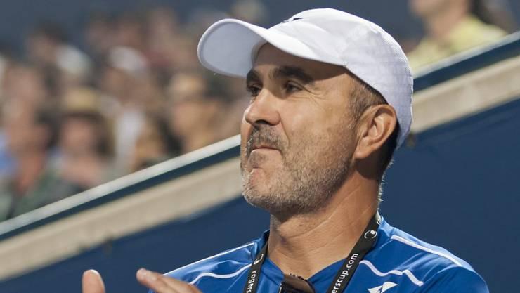 Papa Ivan Bencic unterstützt seine Tochter Belinda weiterhin, wenn auch nicht mehr als Trainer