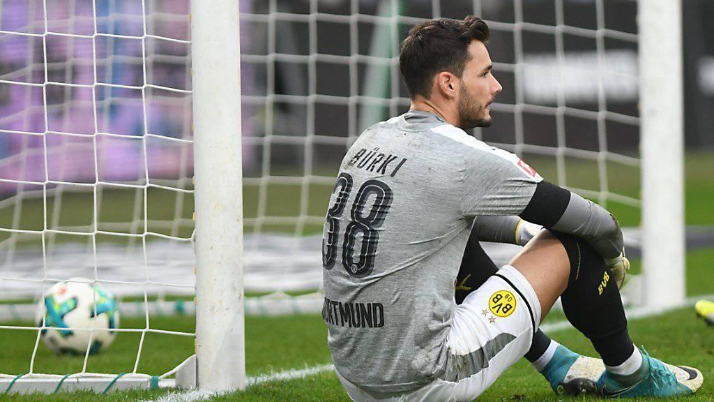 Roman Bürki erlebt mit Borussia Dortmund auch persönlich schwierige Zeiten