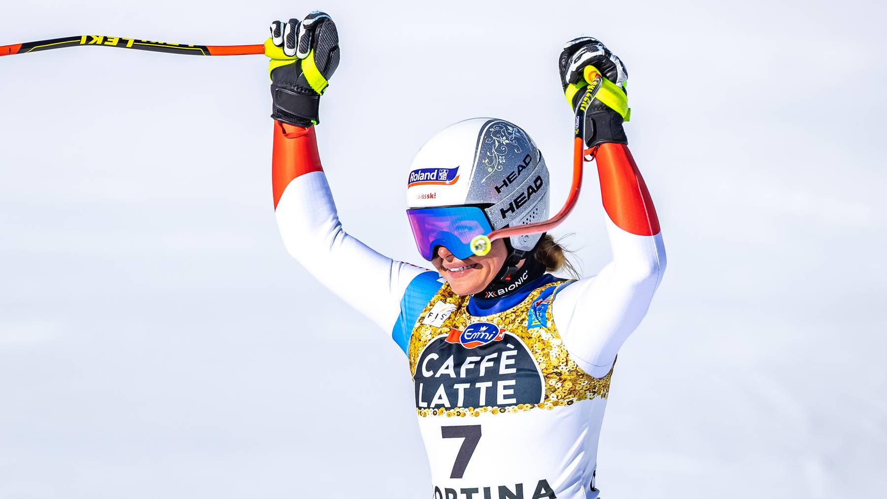 Die Schwyzerin Corinne Suter schreibt in Cortina d'Ampezzo Schweizer Sportgeschichte.