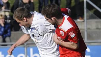 Dzengis Cavusevic (am Ball) verstärkt St. Gallen.