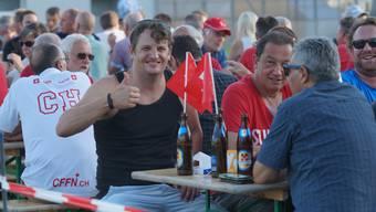 Faustball-Fans feierten friedliches Fest
