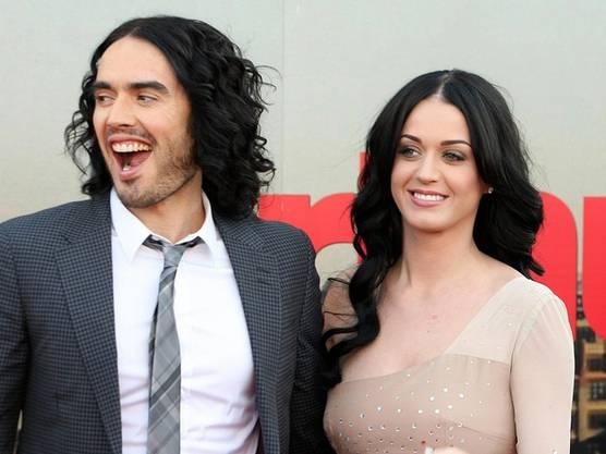 Ein Bild aus besseren Tagen: Russell Brand und Katy Perry