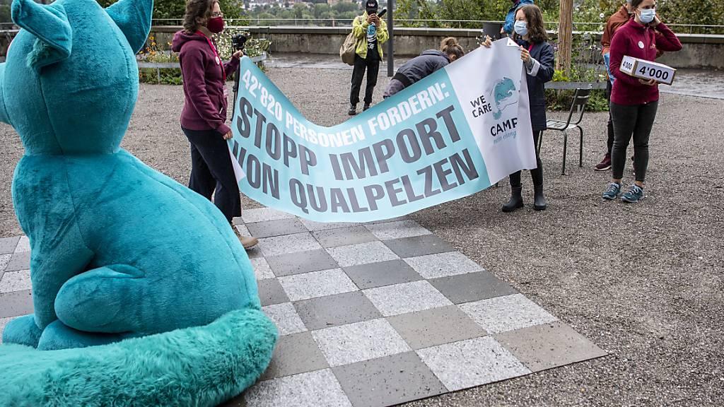 Rund 42'800 Unterschriften gegen tierquälerisch produzierte Pelze