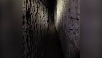 Ein Blick in den längsten Schmuggel-Tunnel von Mexiko in die USA