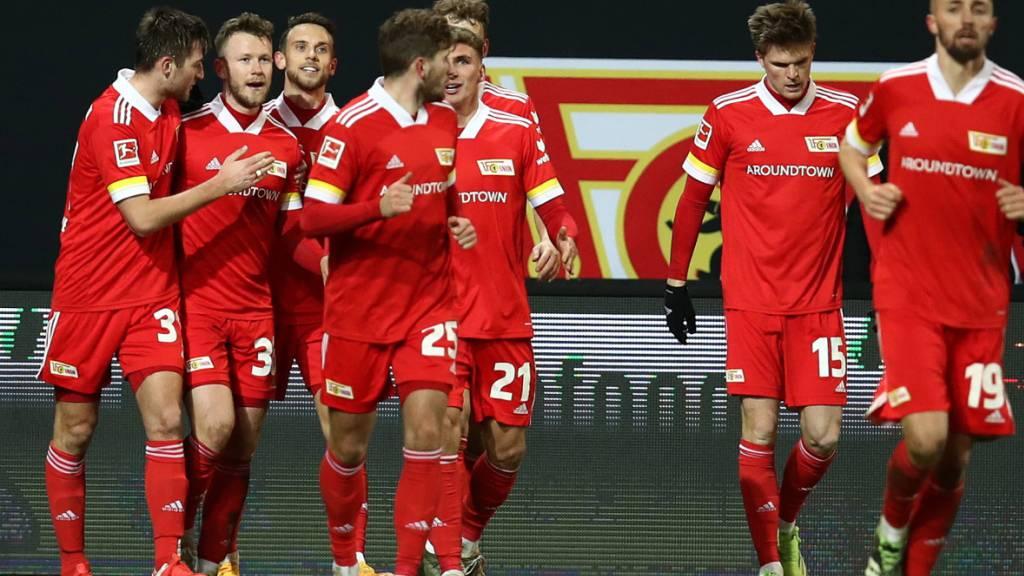 Union Berlin darf auch im Spitzenduell gegen Bayer Leverkusen jubeln