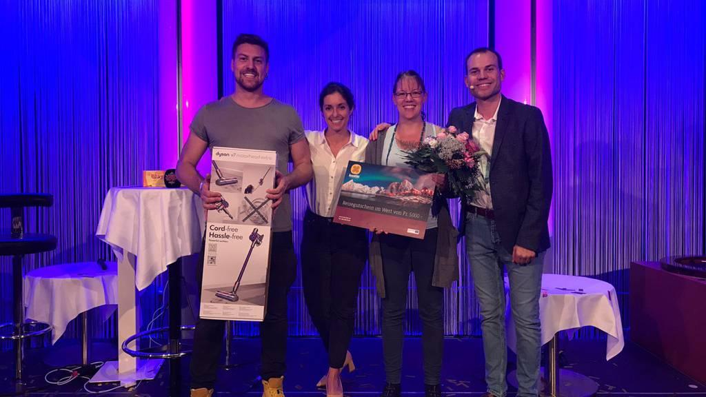 Rita gewinnt die Live Show von «Big Prize»