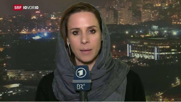 Berichtete aus dem Iran: Natalie Amiri bei «10vor10».