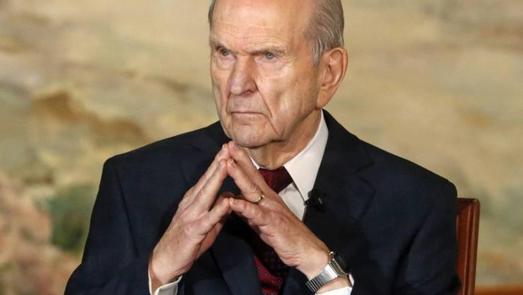 Russell Nelson, neuer Präsident der Kirche Jesu Christi der Heiligen der Letzten Tage.