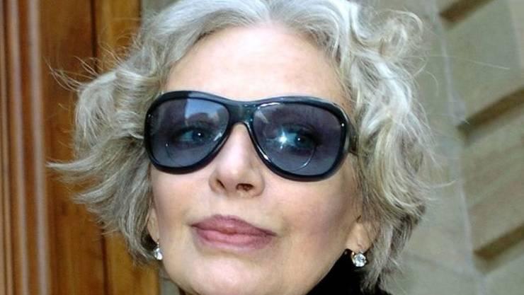 Die französisch-schweizerische Sängerin und Schauspielerin Marie Laforêt musste sich 2004 vor einem Genfer Gericht wegen Rufmord-Vorwürfen an ihrem Ex-Mann verantworten. (Archivbild)