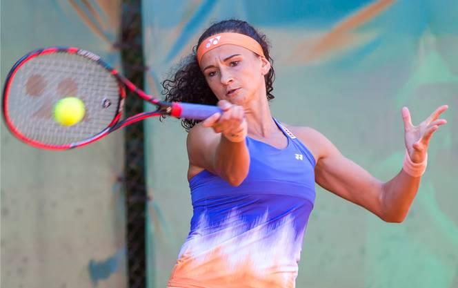 Amra Sadikovic ist eine der Favoritinnen: Die ehemalige Fed Cup Spielerin konnte vor wenigen Tagen mit GC den NLA-Schweizer-Meistertitel im Interclub feiern.