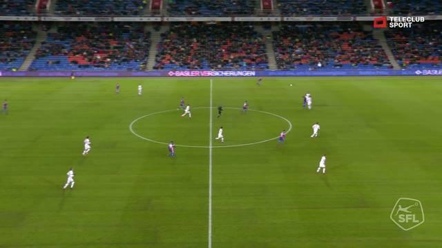57. Tor für FC Basel 1893 von Mohamed Elyounoussi (Assist: Kevin Bua)