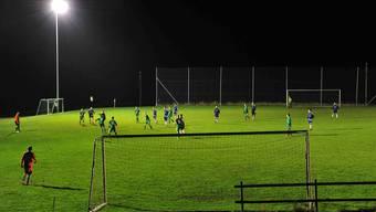Sichtlich geneigt ist der Fussballplatz Fellenmoos in Mümliswil.