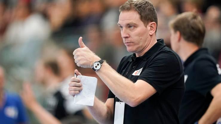 Schätzt seine Spieler ein: Nationaltrainer Michael Suter.