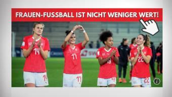 Online Petition für mehr Frauenfussball im TV