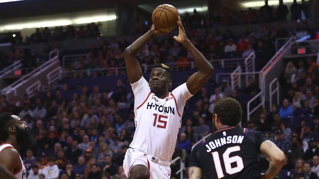 Clint Capela zeigte beim Sieg der Houston Rockets gegen die Phoenix Suns eine gute Leistung