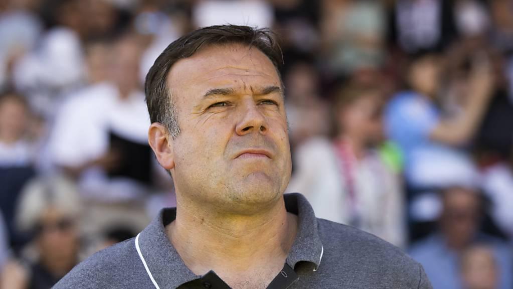 Keine Zukunft beim FC Aarau: Cheftrainer Patrick Rahmen wurde freigestellt