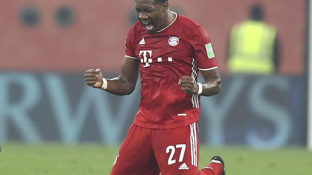 David Alaba sammelte mit Bayern München in den letzten 13 Jahren Titel um Titel
