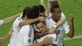 Deutschland sichert sich den verdienten Einzug in die Halbfinals.