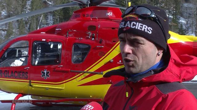 Alpine Rettung aus Lauterbrunnen