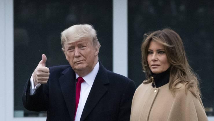 Der US-Senat lehnt die Anhörung von Zeugen ab. Damit geht das Amtsenthebungsverfahren gegen den US-Präsidenten Donald Trump in den nächsten Tagen zu Ende. (Archivbild)