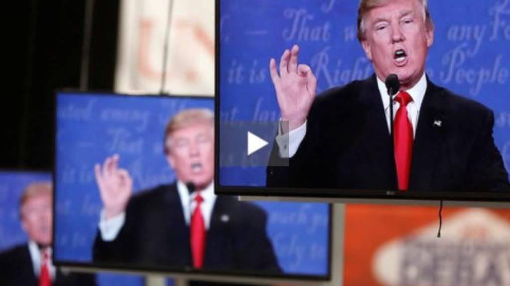 Zu Reden gab nach der «Arena»-Sendung «Trumps Krieg gegen die Medien» nicht Trump, sondern der Streit zwischen dem Moderator Jonas Projer und dem Historiker Daniele Ganser. (Archivbild)