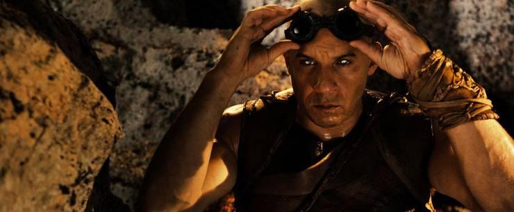 Vin Diesel im Film Riddick