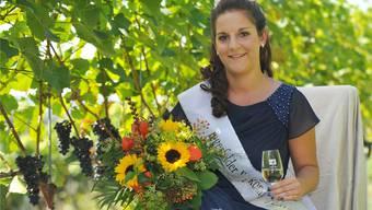 Sabrina Meier ist zur 1. Tegerfelder «Wykönigin» gekürt worden und wird am Winzerumzug auf dem Wagen des Weinbauvereins teilnehmen.