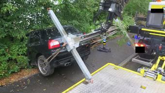Verkehrsunfall in Aesch
