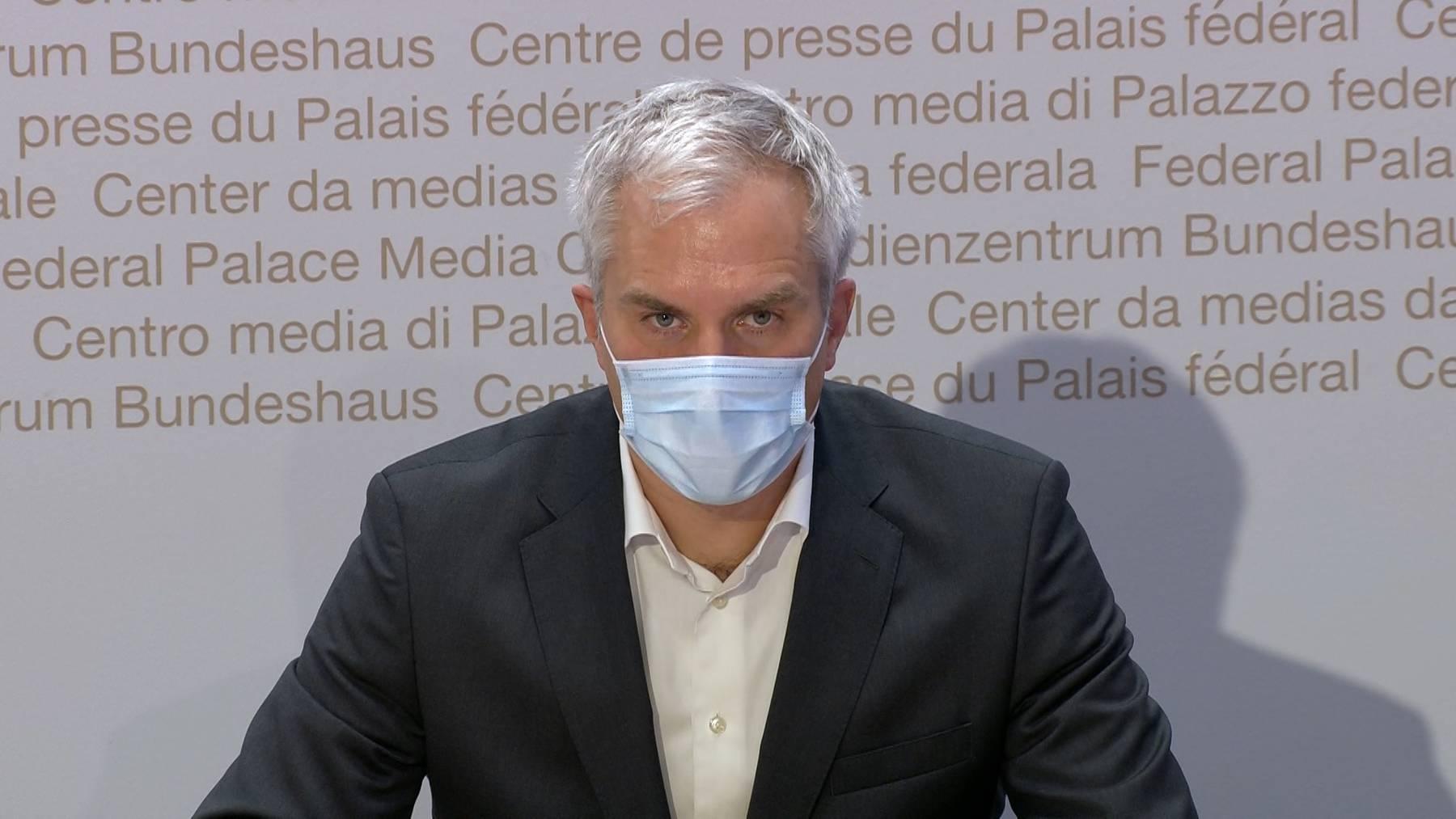 Thumb for ‹Ackermann: Massnahmen wirken sich positiv auf die Pandemie-Entwicklung aus›