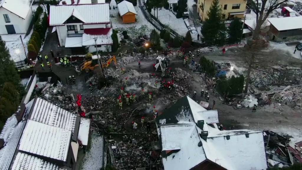 Gasexplosion fordert acht Tote