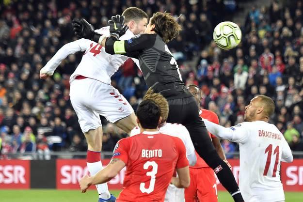26. März 2019, Schweiz-Dänemark 3:3