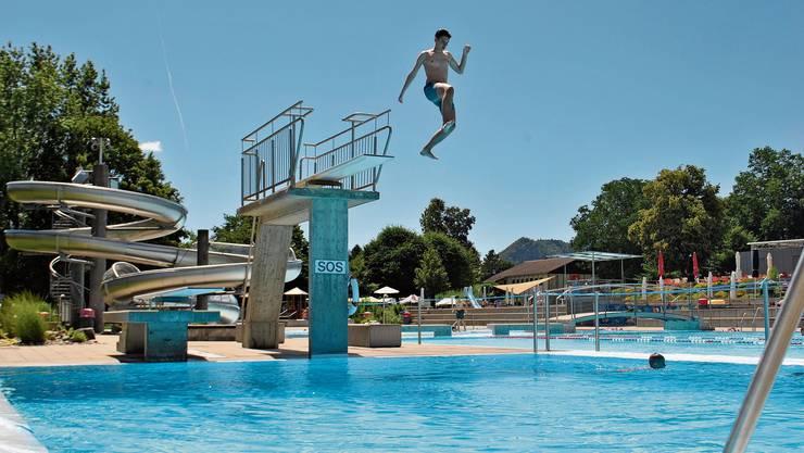 Auf dem Sprung in die Saison: Das Freizeitbad Vitamare in Frick nimmt am Samstag den Betrieb auf.