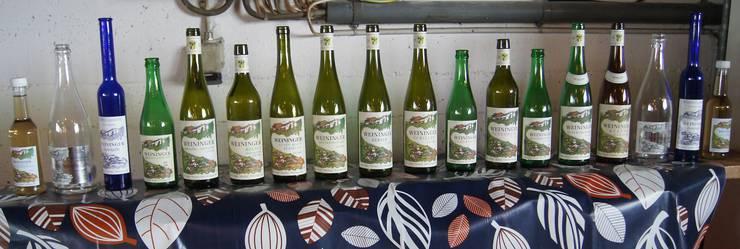 Das ganze Weinsortiment der Familie Peter und Silvia Vogler aus Weiningen
