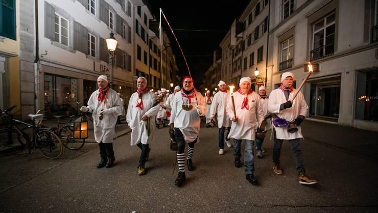 Die Chesslete 2020 am Donnerstagmorgen in Solothurn.