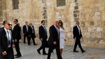Donald Trump zu Besuch in Israel