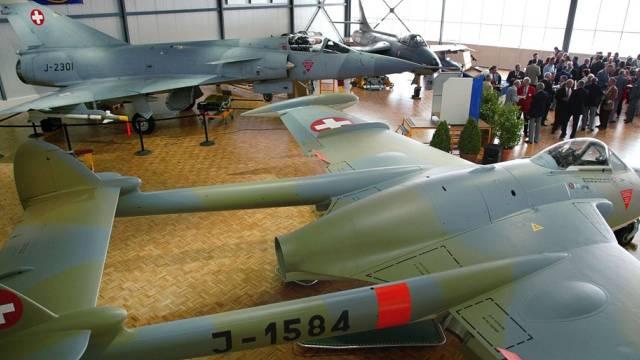 Freut sich über Spende von Saab: Fliegermuseum Payerne (Archiv)