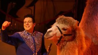Leidenschaftlich: Royal-Direktor und Dompteur Oliver Skreinig kämpft für «echten Zirkus» mit Tieren, Clowns und Artisten. (zvg)