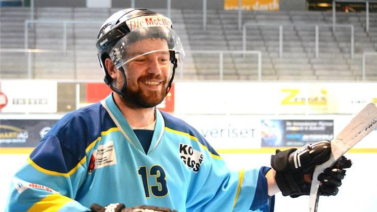 Spielertrainer Michael Gerber führte den HC Laupersdorf 2018 zum 6. Titel.