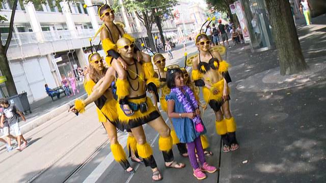 Familie Street Parade