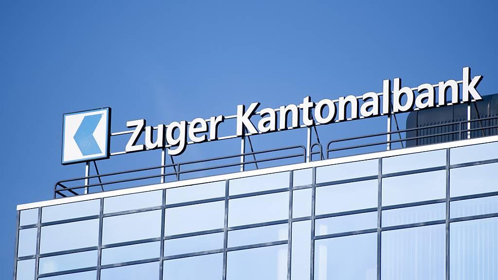 Die Zuger Kantonalbank konnte im ersten Halbjahr 2021 den Gewinn halten. (Archivbild)
